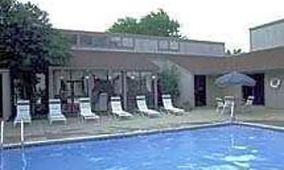 Pool, Hulen Gardens, 1