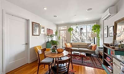 Dining Room, 138 Quincy St 3, 1