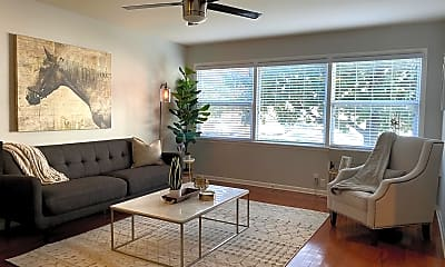 Living Room, Village South Apartments, 0