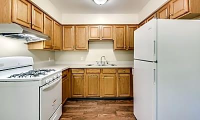 Kitchen, Regency Townhomes, 1