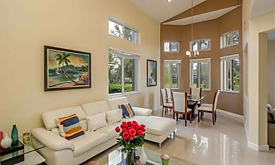 Living Room, 625 NW 170th Terrace, 1