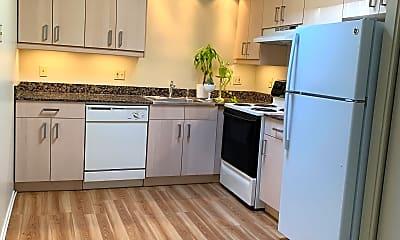 Kitchen, Camelot Apartments, 0