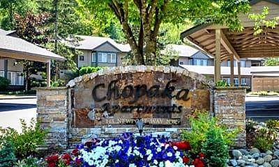 Community Signage, Chopaka, 2