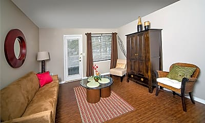 Living Room, Central Park Place, 2