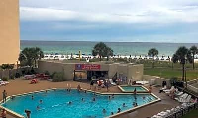 Pool, 8817 Thomas Dr, 1