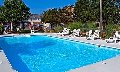Pool, Seasons Apartments, 0