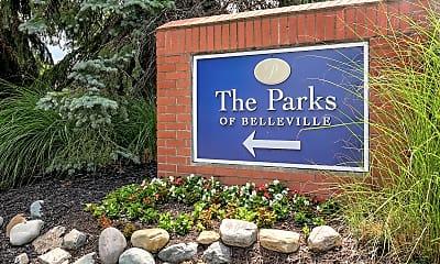 Building, The Parks of Belleville, 1