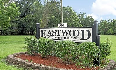 Community Signage, Eastwood Townhomes, 2