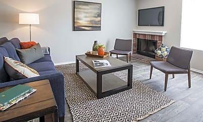 Living Room, Villa Grande Townhome Apartments, 1