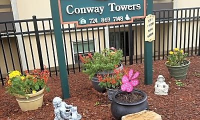 Conway Towers, 1