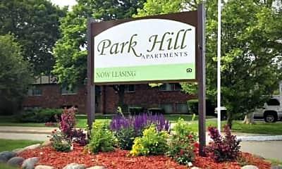Community Signage, Park Hill Apartments, 0