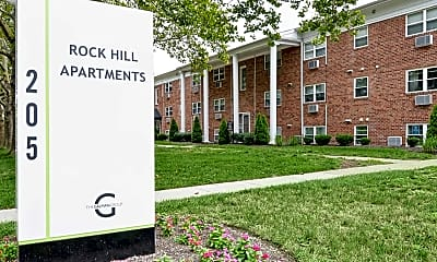Community Signage, Rock Hill Court Apartments, 2