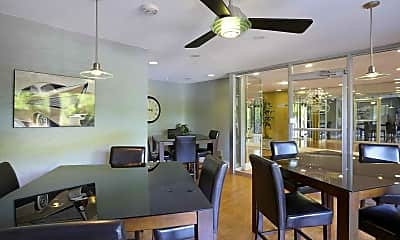 Clubhouse, The Towers at Forest Acres, 1