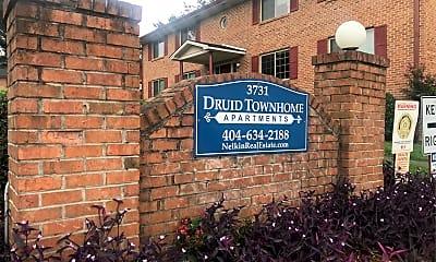 Druid Town Apartments, 1