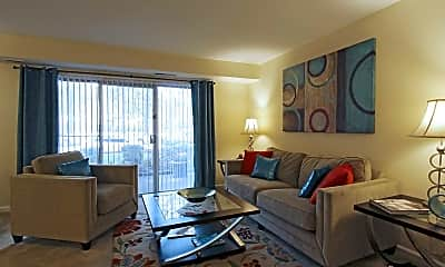 Living Room, The Palms Apartments, 0