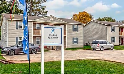 Community Signage, BlueBird Apartments, 0
