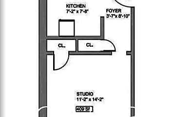 Bathroom, 123 E 82nd St, 2