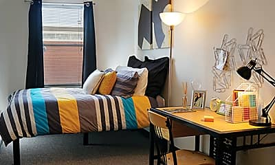 Bedroom, RAMZ Apartments on Broad, 2