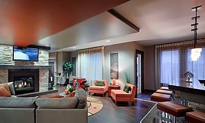 Living Room, Aura at Towne Place, 2