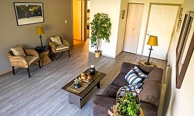 Living Room, Eaglepointe Apartments, 1
