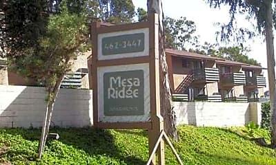 Mesa Ridge, 0