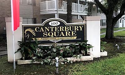 Canterbury Square Apartments, 1
