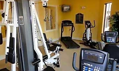 Fitness Weight Room, Wildflower Villas, 1