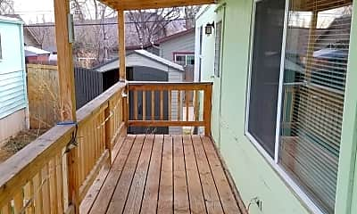 Patio / Deck, 224 Seward St, 1
