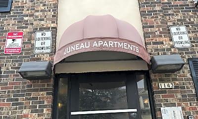 Juneau Apartments, 1