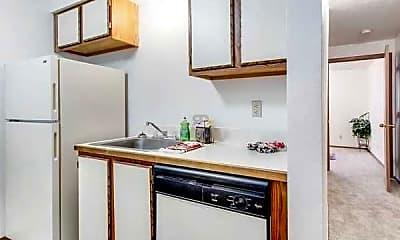 Kitchen, Fort Lane Apartments, 1