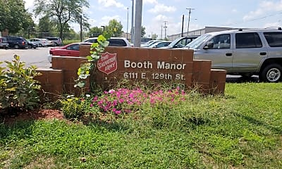 Booth Manor, 1