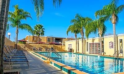 Pool, Kabana Flats, 1
