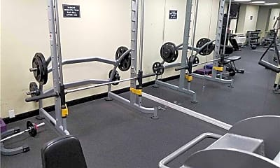 Fitness Weight Room, 100 W Broadway 2P, 2