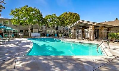 Pool, Thornbridge Apartments, 2