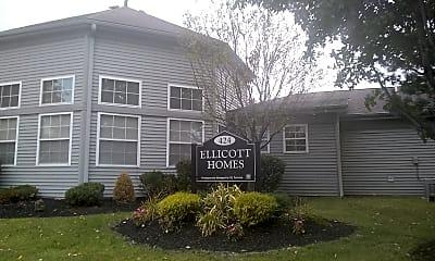 Ellicott Homes, 1