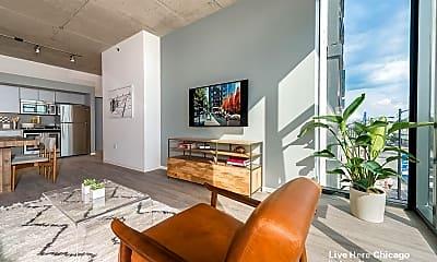 Living Room, 2211 N Washtenaw Ave, 2