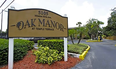 Community Signage, Oak Manor At Temple Terrace, 2