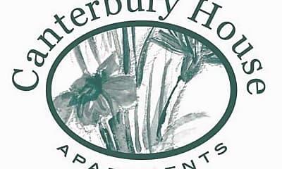 Community Signage, Canterbury House Apartments, 2