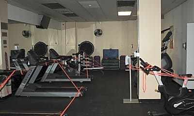 Fitness Weight Room, 111 Mulberry St 2K, 2