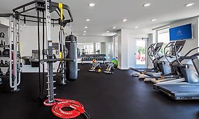 Fitness Weight Room, The Mastlight, 2