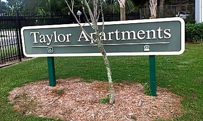 Taylor Apartments, 1