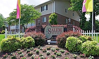Community Signage, Salem Wood Apartments, 2