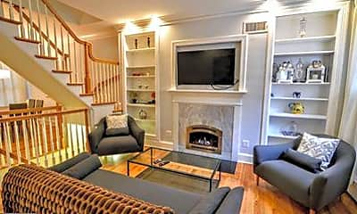 Living Room, 1029 30th St NW, 1