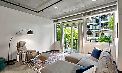 Living Room, 730 N 4th St 208, 1