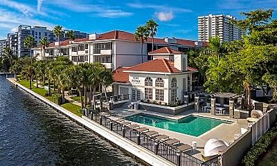 Pool, Port Royale Apartments, 0