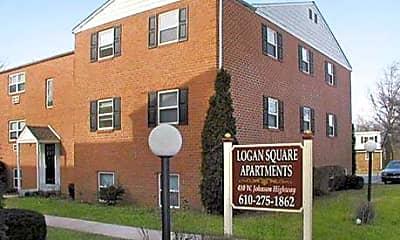 Astor & Logan Square Apartments, 1