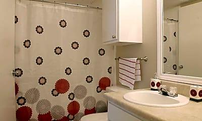 Bathroom, 2121 Apartments, 2