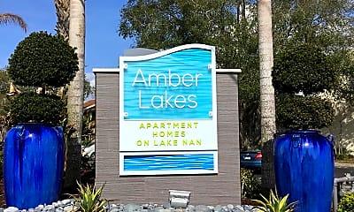 Community Signage, Amber Lakes, 2