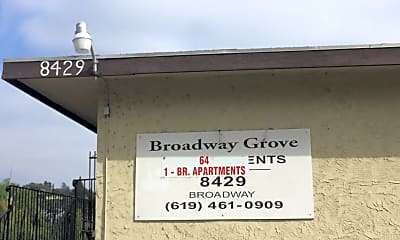 Broadway Grove Apartments, 1