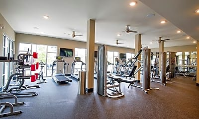 Fitness Weight Room, Parks at Nexton, 1